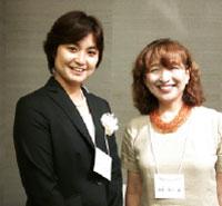 明石洋子さん祝賀会_腹巻さん&そうたママ