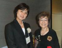 明石洋子さん祝賀会_洋子さんとそうたママ