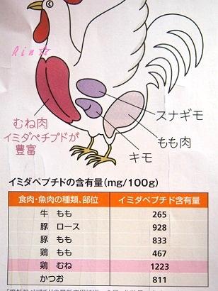 イミダペプチド含有量