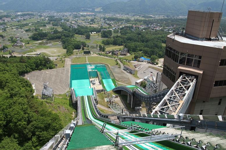 20130608長野ジャンプ競技場1a