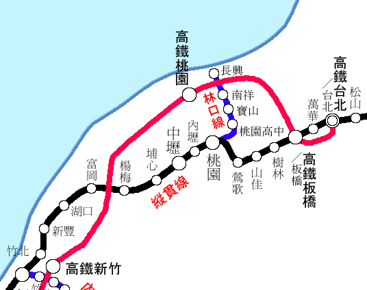 720板橋高鉄路線