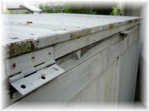 20130916屋外ゴミ箱修理2