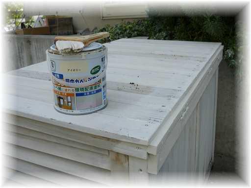 20130916屋外ゴミ箱修理6