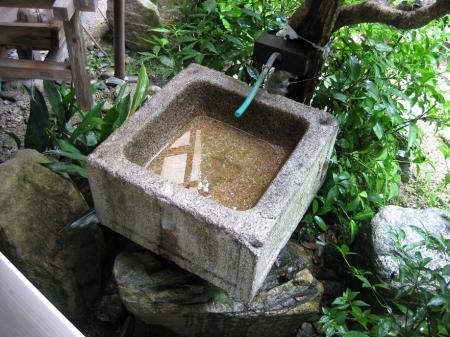 手水鉢 002