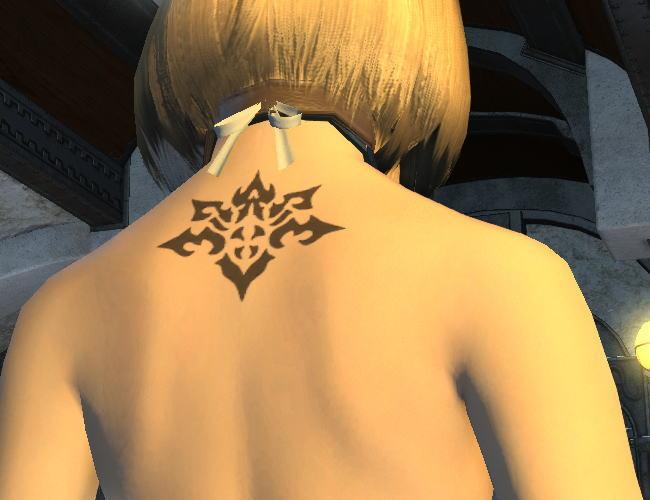 背中の紋章9