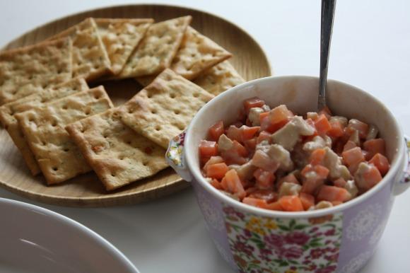 クラッカー&野菜