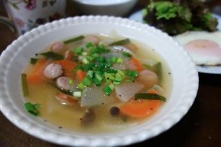 朝スープ1119
