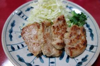 豚ヒレ肉の塩麹漬け焼き0902
