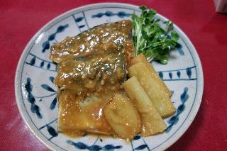 鯖の味噌煮0929