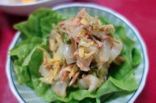 白菜とツナの甘酢サラダ1006