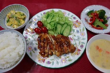 夕飯131008