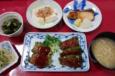 夕飯131015