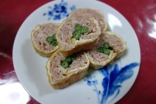 油揚げのひき肉ロール1018
