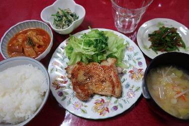 夕飯131101
