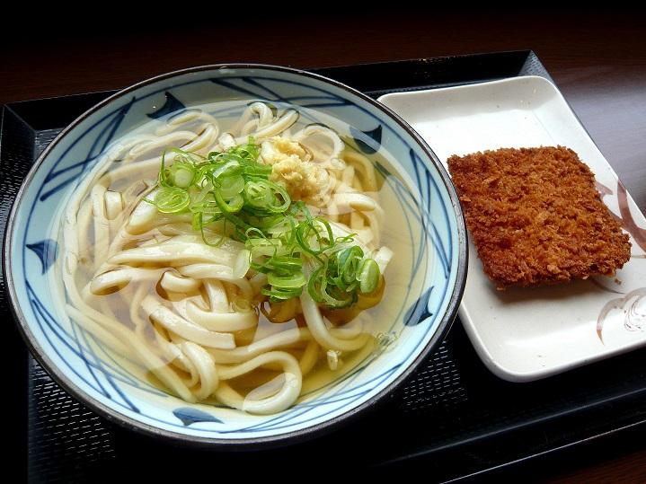 丸亀製麺ひやかけ1
