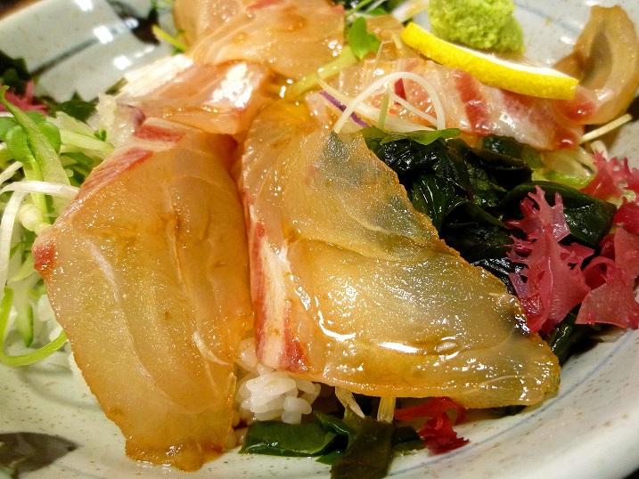 ゆ~がに海鮮丼3