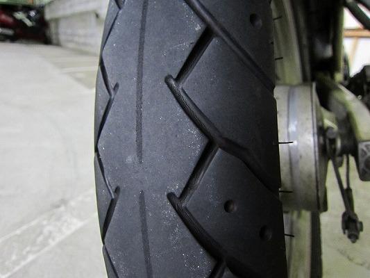 タイヤ交換 1