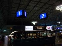 桃園空港中華航空カウンターは一番端131211