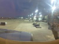 機内からCI110桃園出発131211