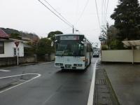 喜入から知覧行バス乗車131213
