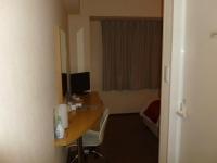 ようやくホテルアービック鹿児島にチェックイン131213