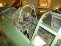 鹿屋基地史料館の零戦操縦席131214