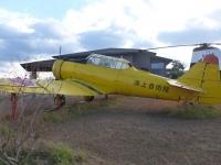 鹿屋基地史料館の旧式プロペラ機131214