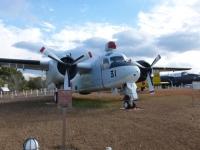 鹿屋基地史料館のS2F-1艦載用対潜哨戒機131214