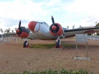 鹿屋基地史料館のSNB-4練習機131214