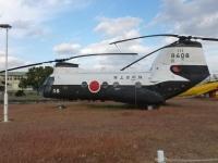 鹿屋基地史料館のKV-107Ⅱ掃海機131214