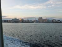 鹿児島鴨池港に到着131214
