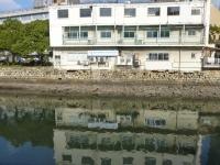 出島への橋のあった九州側131215