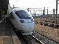 長崎駅にて885系博多行き先頭車131215