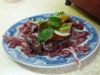 富香沙茶爐の牛肉とホルモン131224