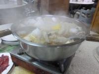 富香沙茶爐の牛鍋131224