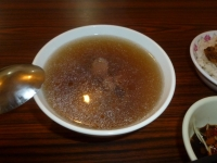 台南品牛牛肉湯の牛肉湯131226