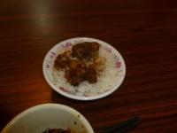 台南品牛牛肉湯の肉燥飯131226