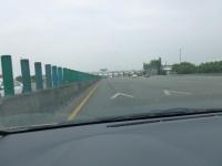 中山高速新市收費站進入131226