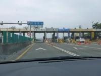 中山高速新市収費站ETCゲート131226