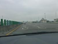 中山高速新營收費站手前131226