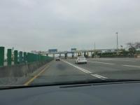 中山高速新營收費站ETCレーン131226