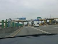 中山高速新營收費站ETCゲート131226