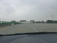 第二高速大甲收費站131226