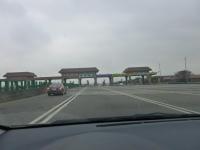 第二高速大甲收費站進入131226