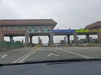 第二高速大甲收費站ETCゲート131226