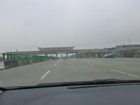 第二高速後龍收費站進入131226