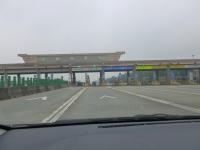 第二高速後龍收費站ETCレーン131226