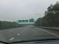 第二高速新竹系統でまた中山高速に戻ります131226