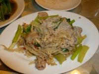 泰之雲のタイ式豚肉炒め140101