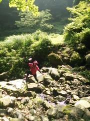 2013-07-28 瀞川平トレラン 川渡り